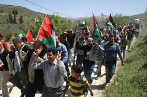 Sebastiya protests against sewage dumping